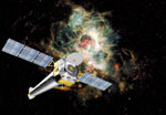 Photo: Artist's concept of the Chandra X-ray Observatory.
