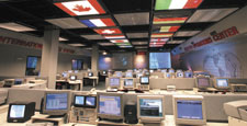 Photo description: Payload Operations Center