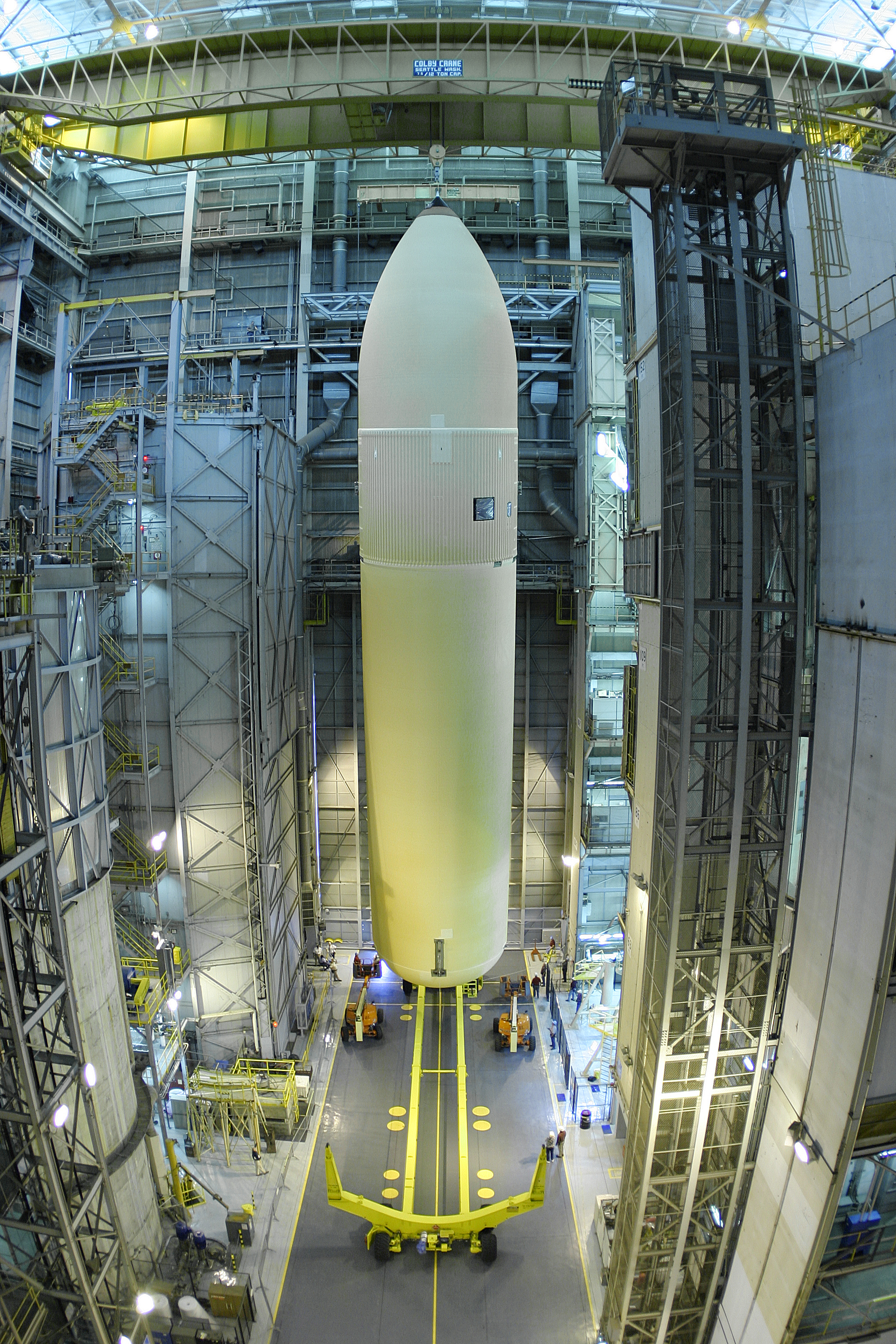NASA - Space Shuttle External Tank slated to fly next ...