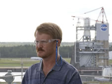 Dale Sewell, NASA test complex construction manager at John C. Stennis Space Center.