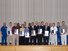 Stennis Employees Receive Silver Snoopys