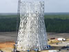Work continues on the new A-3 Test Stand at Stennis. The stand will be used to test the new J-2X rocket engine.