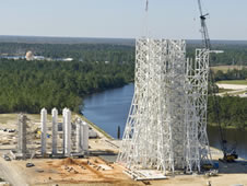 A-3 Test Stand construction