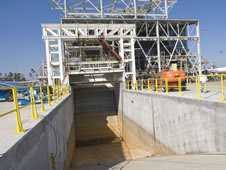 Operators at NASA's John C. Stennis Space Center are completing modifications to the E-1 Test Stand to begin testing Aerojet AJ26 rocket engines in early summer.