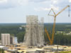Work continues on the new A-3 Test Stand at Stennis.