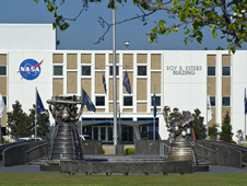 Main NASA administration building at NASA's John C. Stennis Space Center now bears the name of the late Former Director Roy S. Estess.