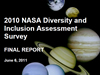 SSC Diversity & Inclusion Assessment Survey