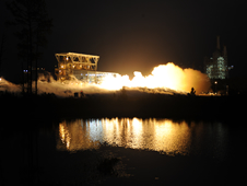 AJ26 Engine No. 8 Tested at NASA's Stennis Space Center