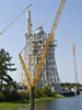 The A-3 Test Stand at Stennis Space Center will allow simulated high-altitude testing of the J-2X rocket engine.