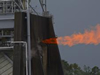 J2X powerpack test at Stennis Space Center on June 8, 2012.