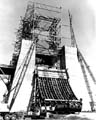 Photo - Early Construction for A-2 Test Stand