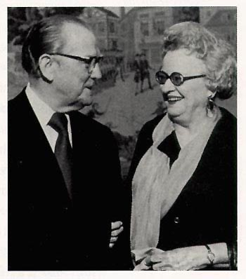 Photo - Senator Stennis and Miss Coy