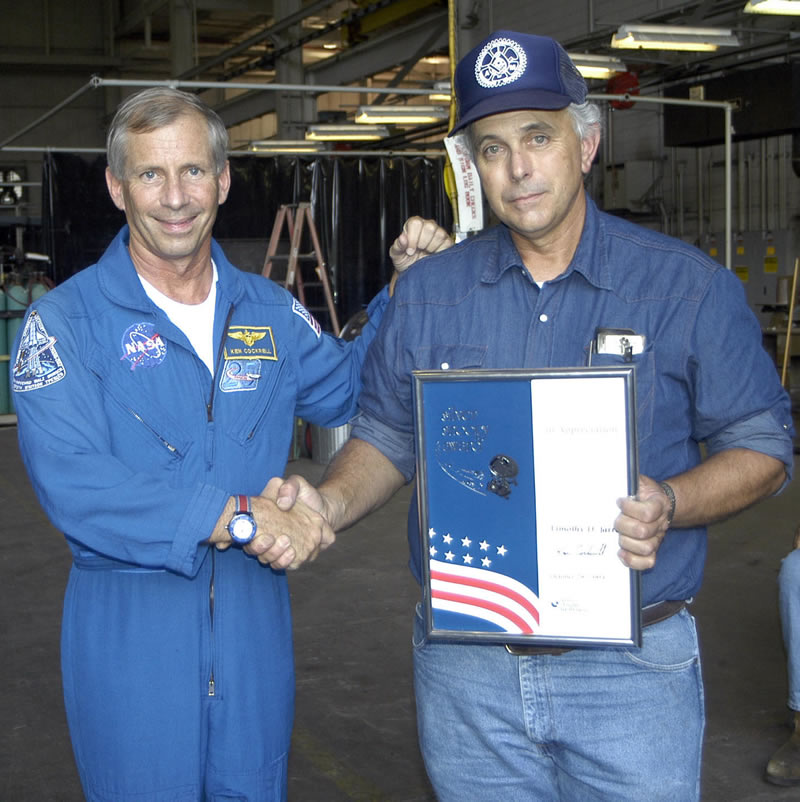NASA Employee Certificate (page 3) - Pics about space