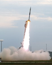 Launch of Orion sounding rocket