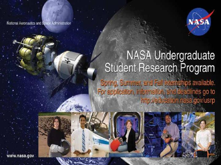 NASA Looking for Undergraduate Students