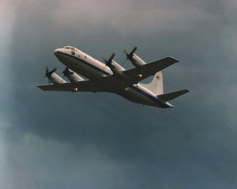 The NASA P-3 Orion is being used for Greenland ice sheet mapping.