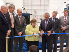 HIF ribbon-cutting at Wallops Flight Facility