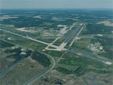 Wallops Flight Facility aerial photograph