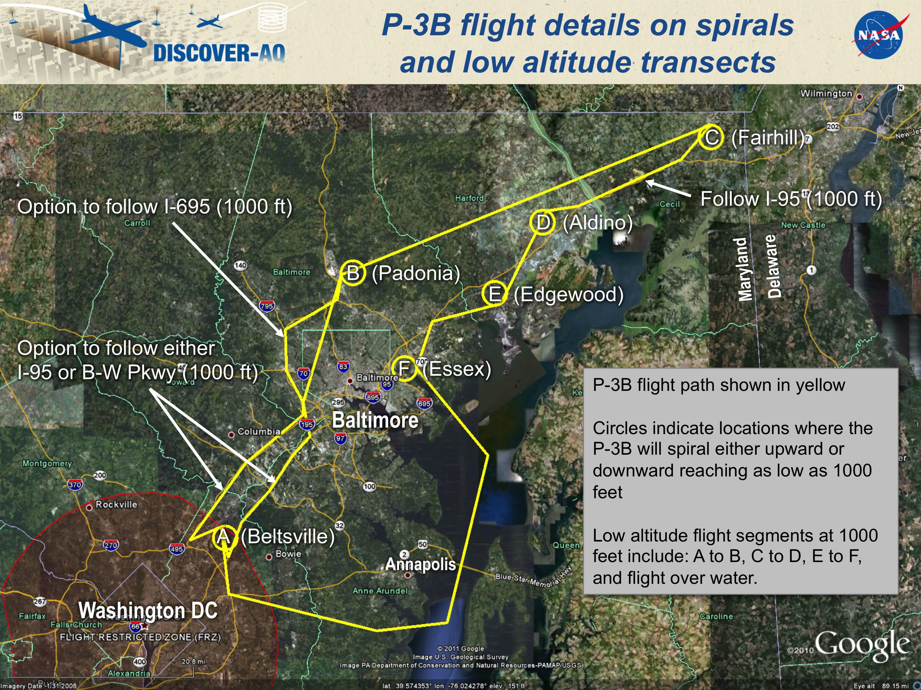 NASA - Wallops P-3B Supporting Air Pollution Study