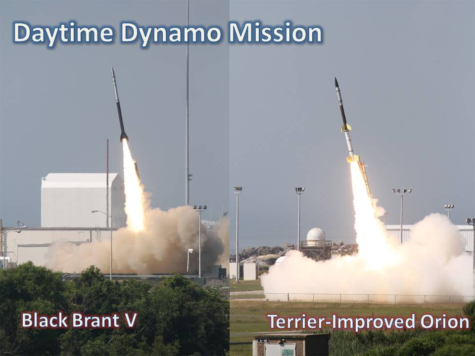 Daytime Dynamo mission launches from Wallops
