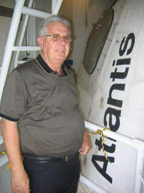 Kenny McCardle worked on the Apollo Space Program since 1966 and more recently the Space Shuttle Program.