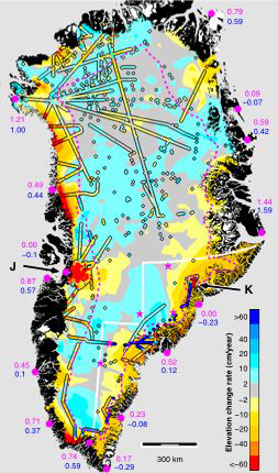 NASA Greenlands Ice Thinning More Rapidly at Edges