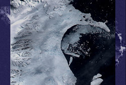 Larsen ice shelf Feb. 17, 2002