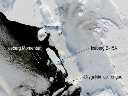 Image of Iceberg B