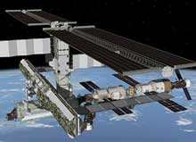 International Space Station artist concept image