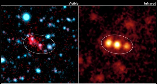 galactic blob seen by Spitzer Space Telescope