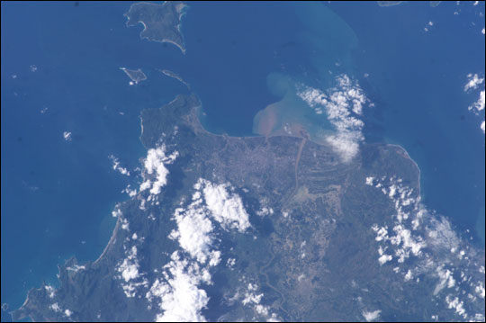 ISS010-E-10475: Banda Aceh, Sumatra and Indonesia prior to tsunami