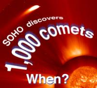 SOHO spots comets passing by the Sun.