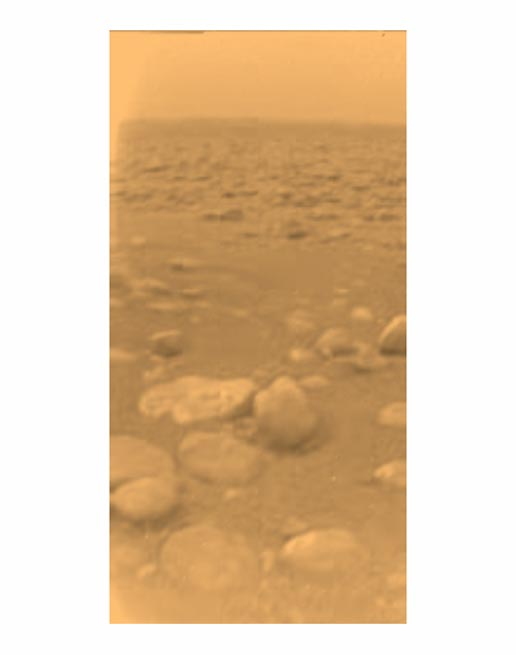 first color image of Titan