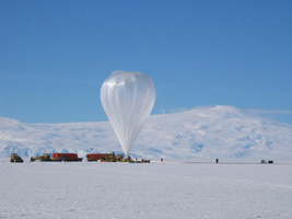 Image of CREAM's Record Breaking Balloon.