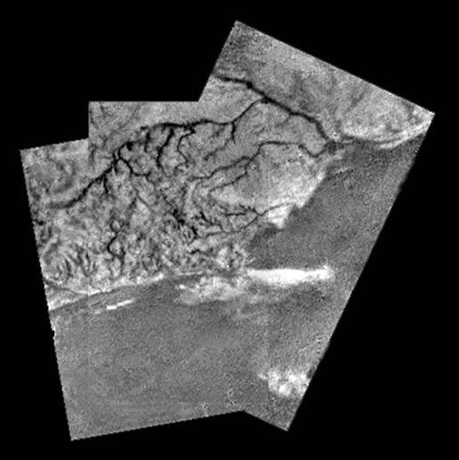 surface details at Titan