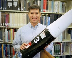 Trong Bui, Aerospace Engineer at NASA's Dryden Flight Research Center
