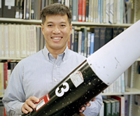 Trong Bui, Aerospike Research Rocket Test principal investigator