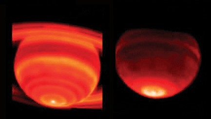 Red-Hot Saturn