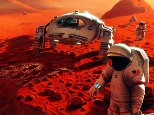 nasa mars landing human - photo #38
