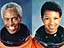 Guion Bluford and Mae Jemison