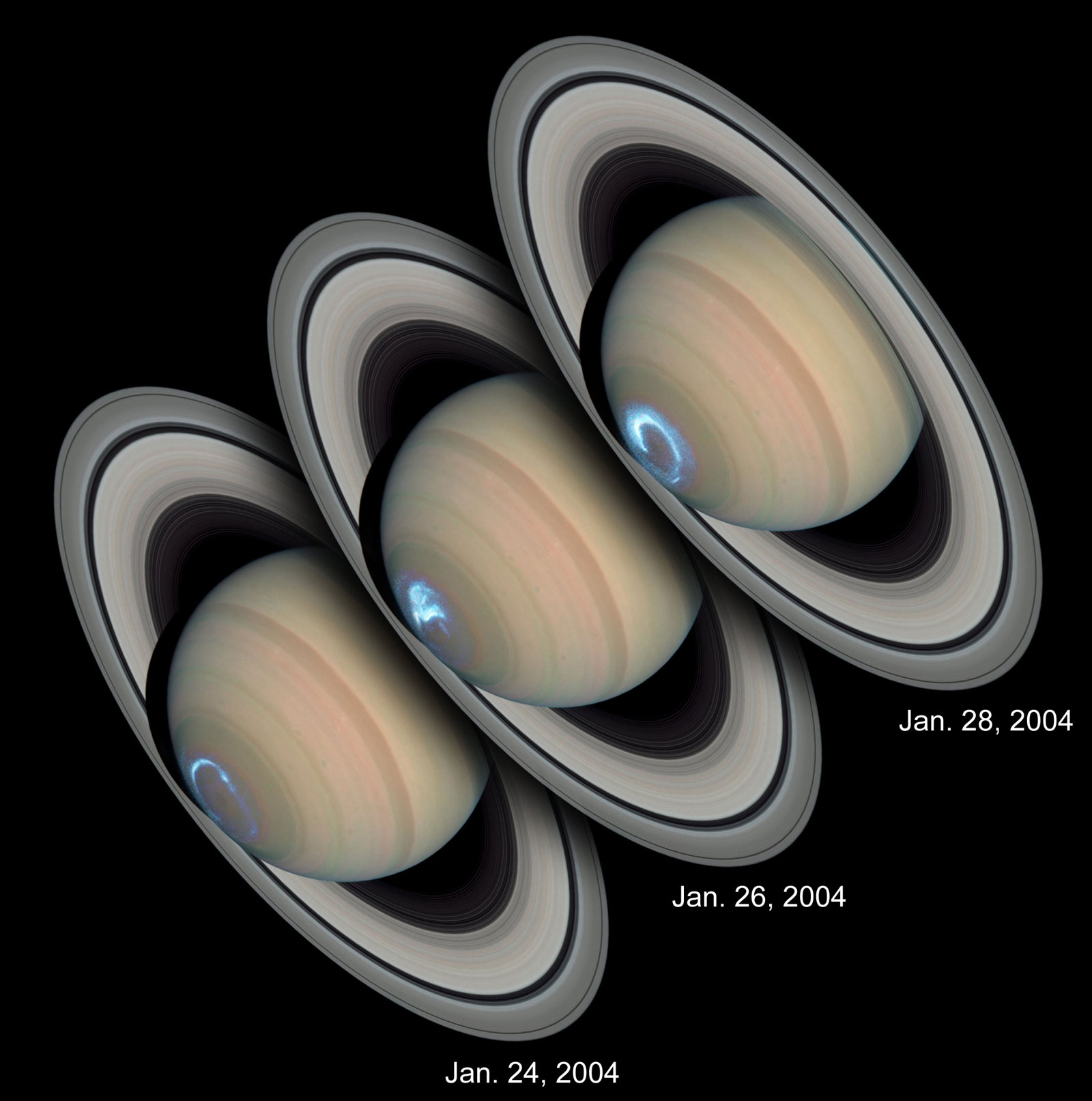 Hubble Space Telescope Saturn