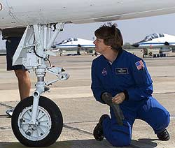 NASA - Preflight Interview: Eileen Collins