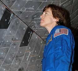 STS-114 Mission Specialist Wendy Lawrence