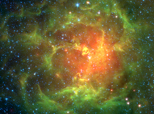 Spitzer Uncovers Star Hatchery