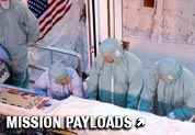 Payload processing at Kennedy Space Center.