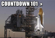 Space Shuttle Endeavour sits poised for launch