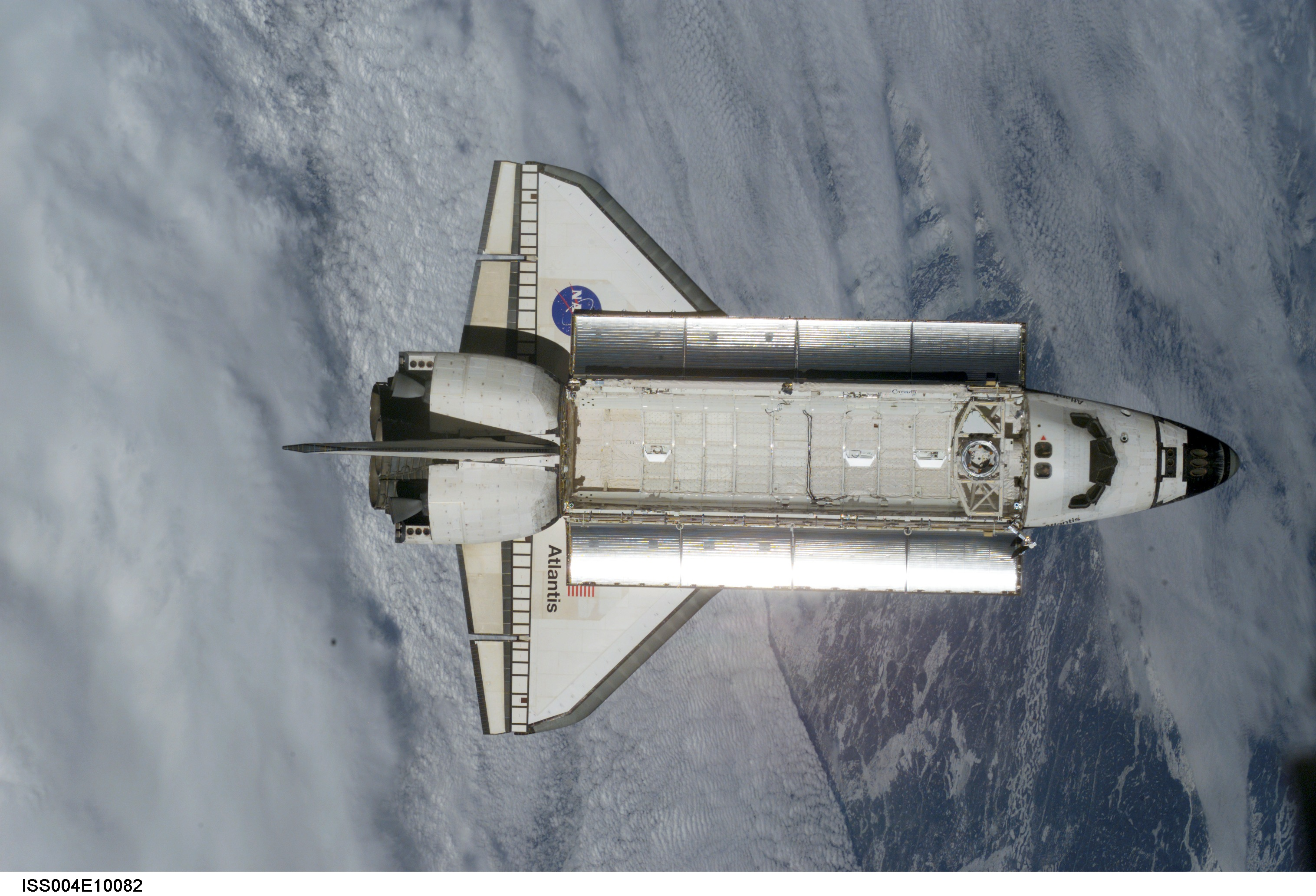 space shuttle top wing - photo #33