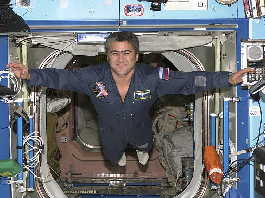 Expedition 10 Flight Engineer Salizhan Sharipov