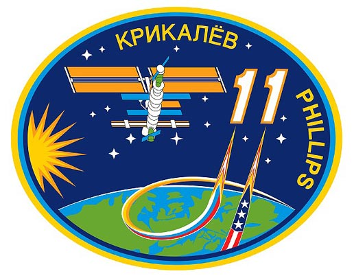 Expedition 11 crew patch