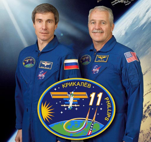 Expedition 11 crew